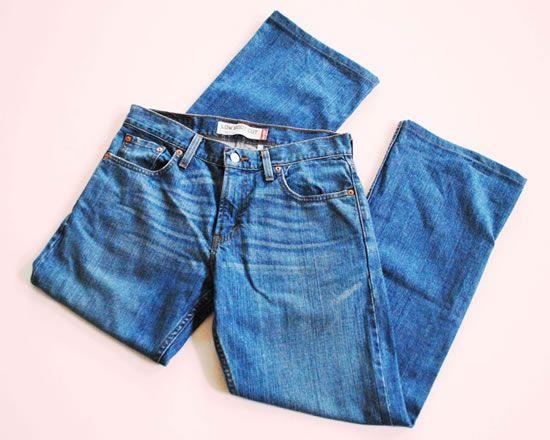 Calça jeans para fazer shortinho desfiado