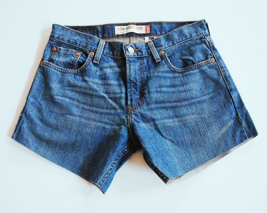 Criando short com calça jeans