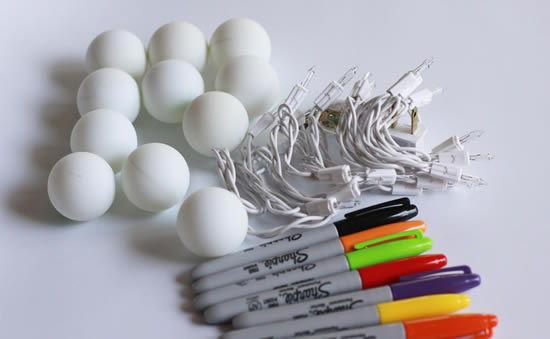 Materiais que você vai precisar para fazer a decoração