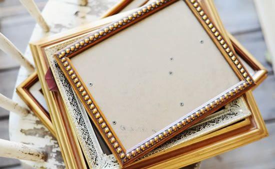 Moldura de quadros para decoração