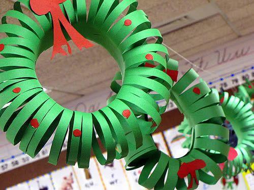 Guirlanda de papel para decoração