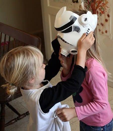 Como fazer máscara de Guerra nas Estrelas