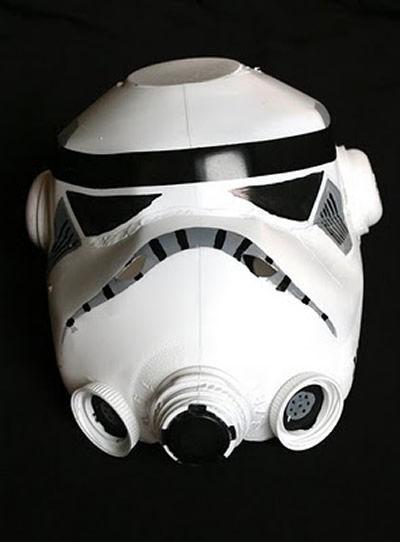 Com fazer máscara de Guerra nas Estrelas passo a passo