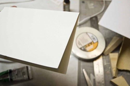 Papel cartão para decorar