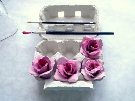 Flores artesanais passo a passo