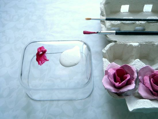 Passo a passo de flor artesanal