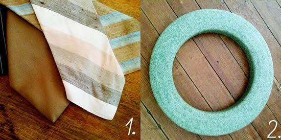 Primeiros passos de como fazer uma linda guirlanda de tecido