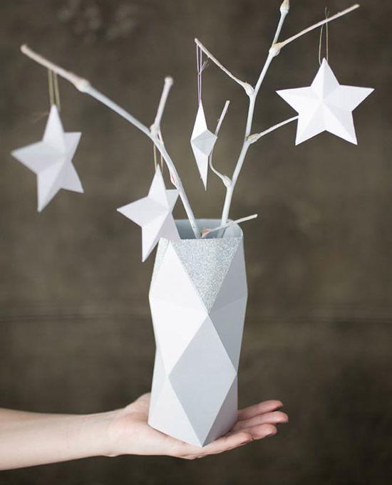 Vaso de papel passo a passo para fazer em casa
