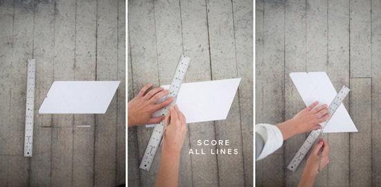 Criando vaso de papel em casa
