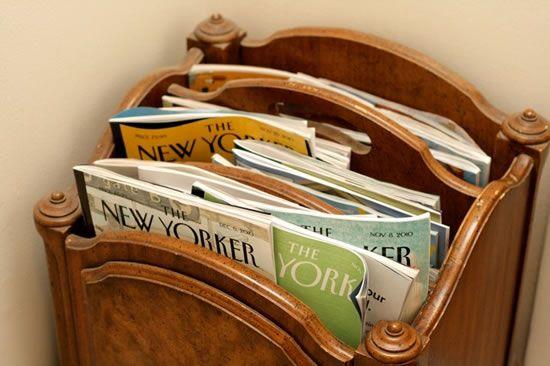 Reciclar revistas e fazer artesanato de Natal