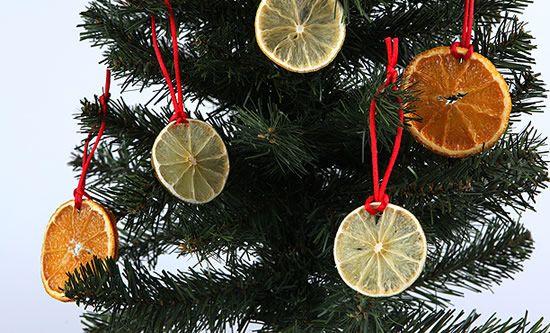 Limões para decorar o Natal