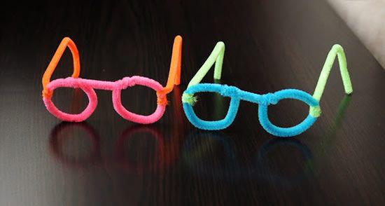 Como fazer óculos de brinquedo em casa
