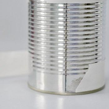 Criando a lata decorada para enfeitar o quarto
