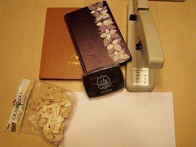 Materiais para fazer o artesanato