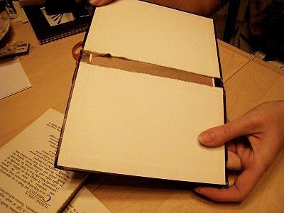 Livro velho para fazer caderno customizado