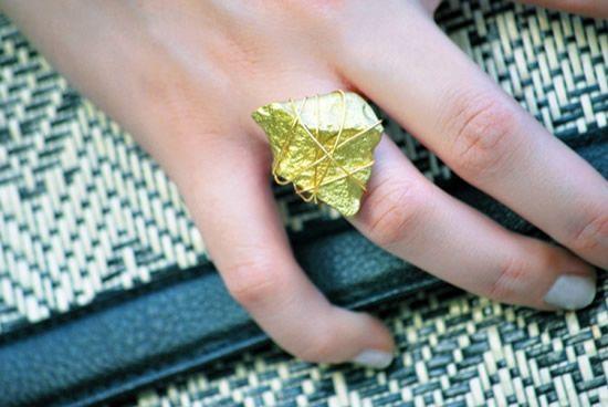 Como fazer anel com pedra passo a passo