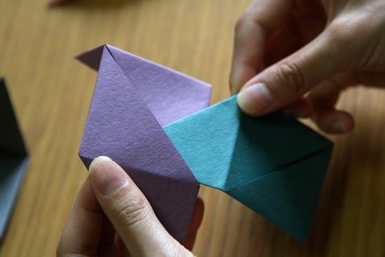 Montando a caixa de papel passo a passo