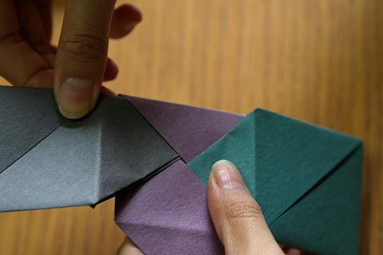 Como fazer caixa de papel passo a passo