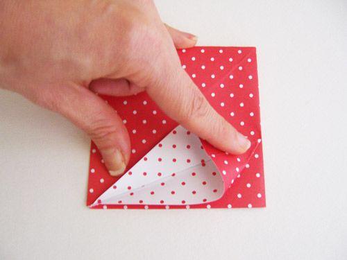 Criando caixa de papel com origami passo a passo