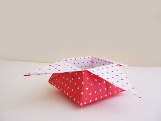 Como Fazer Caixas De Papel Origami