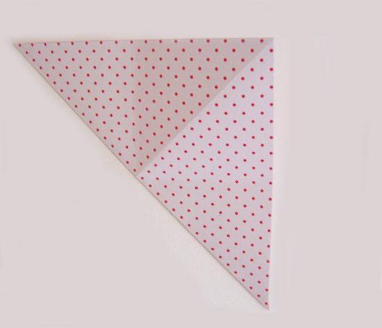 Papel de origami para fazer artesanato