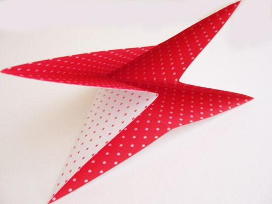 Caixa de origami com papel passo a passo