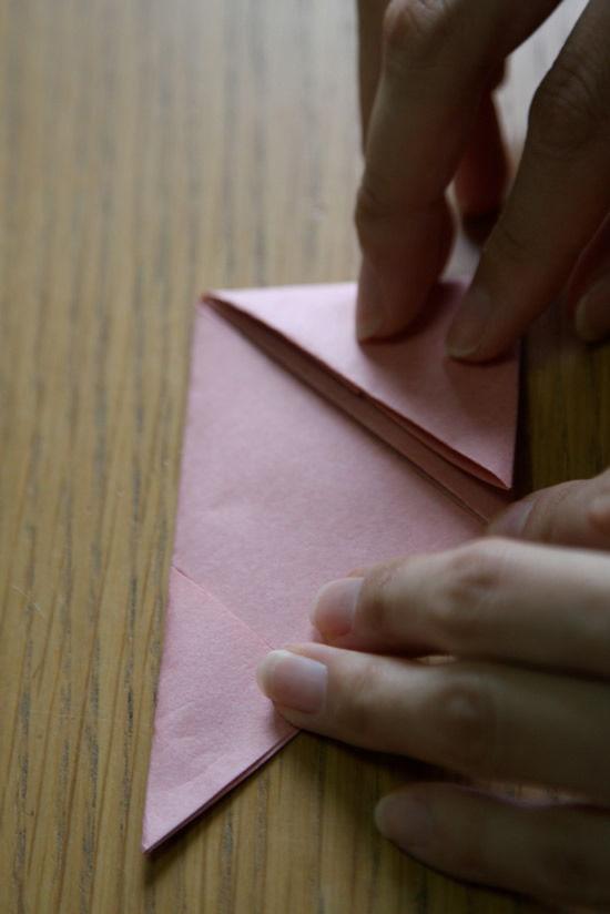 Criando caixinha de origami passo a passo
