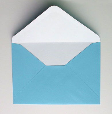 Envelope de papel passo a passo