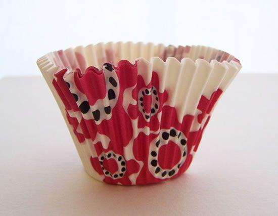 Forminhas de papel para fazer flor artesanal