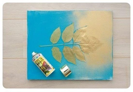 Como fazer quadro de decoração para a sala