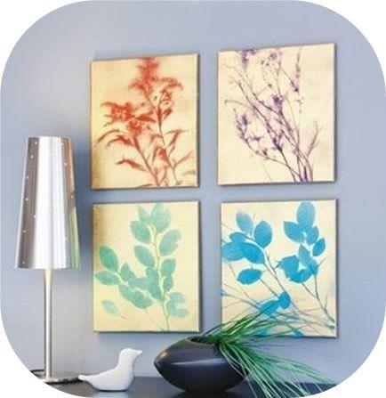 Criando quadro decorativo para enfeitar a sala