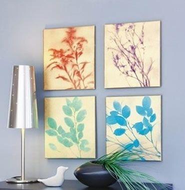 Como fazer um lindo quadro decorativo