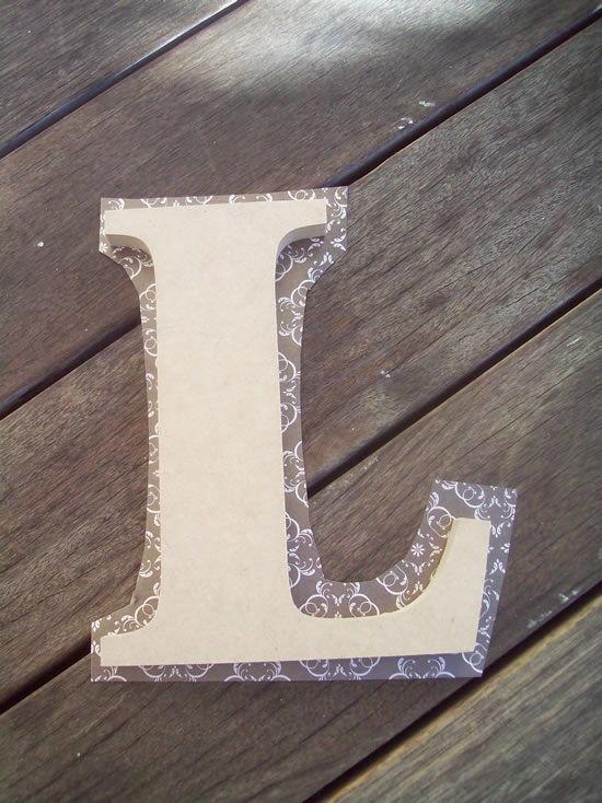 Revestindo madeira com papel