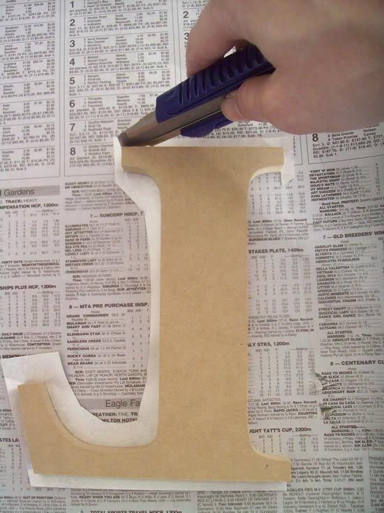 Revestindo madeira com papel passo a passo