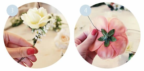 Como fazer adereço para noivas