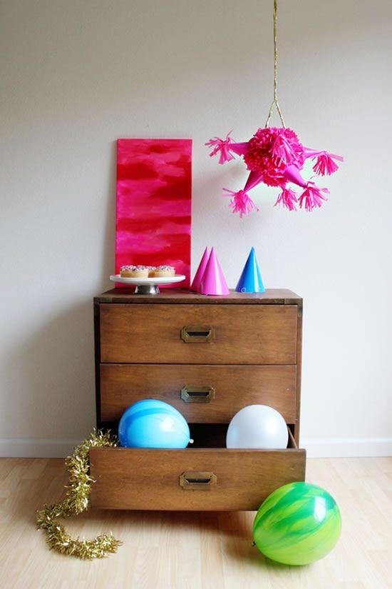 Passo a passo de decoração infantil para festas