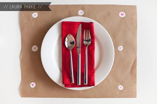 Decoração fofa para enfeitar jantar de namorados