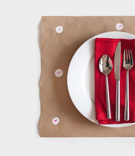Decoração para jantar de namorados