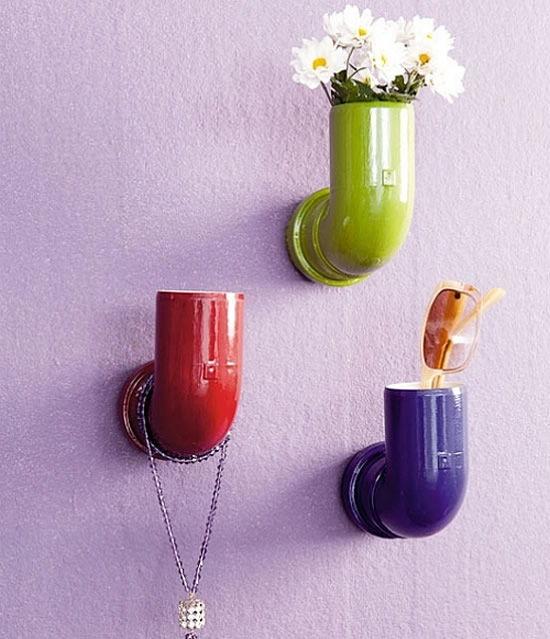 Como fazer artesanato para decorar a casa com canos PVC