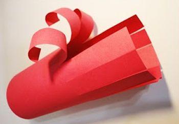 Decoração infantil de papel para festa