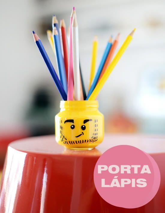 Aprenda como fazer um lindo porta-lápis