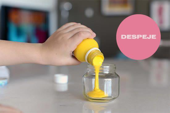 Criando o porta-lápis com o pote de plástico