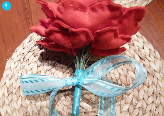 Lindo bouquet para usar no casamento - Passo a passo