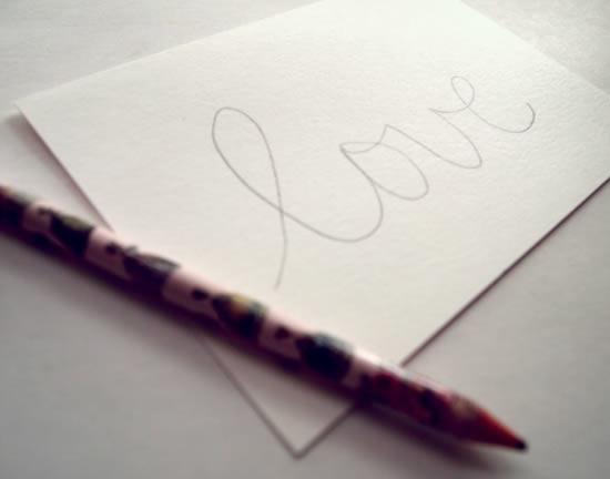 Mensagem para escrever no cartão
