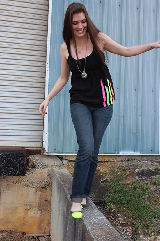 Como customizar camisas femininas passo a passo