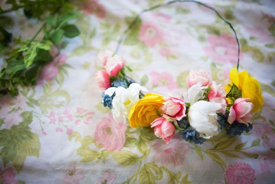 Passo a passo com artesanato de flores para casamento
