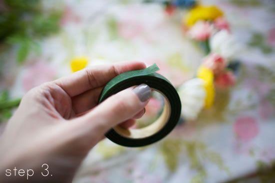 Como fazer acessório com flores passo a passo