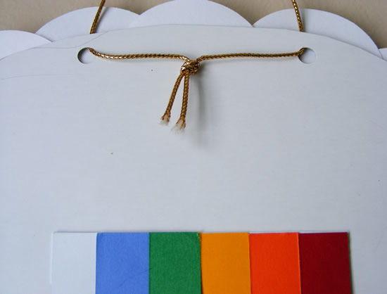 Como fazer um lindo arco-íris para decoração