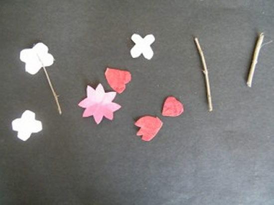 Artesanato infantil - Jardinzinho