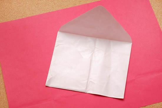 Fazendo um envelope de papel passo a passo